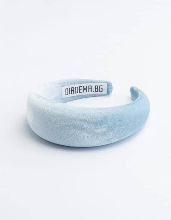 Velvet sky designer handmade headband