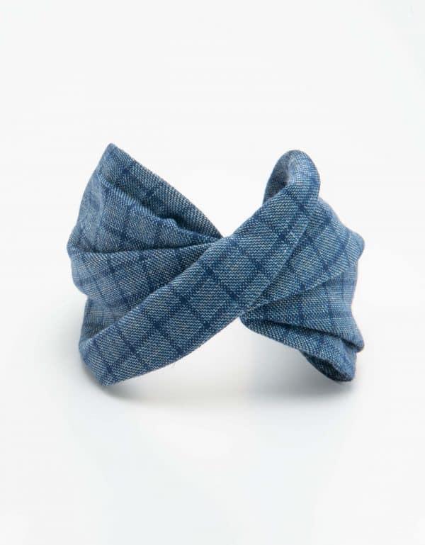 Blue Checks Twist