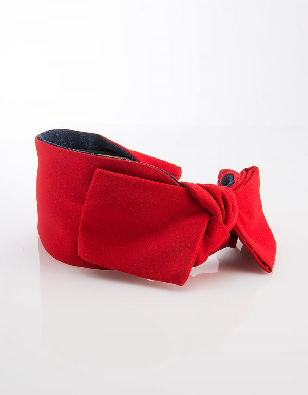 Red Side Bow Tie Mini