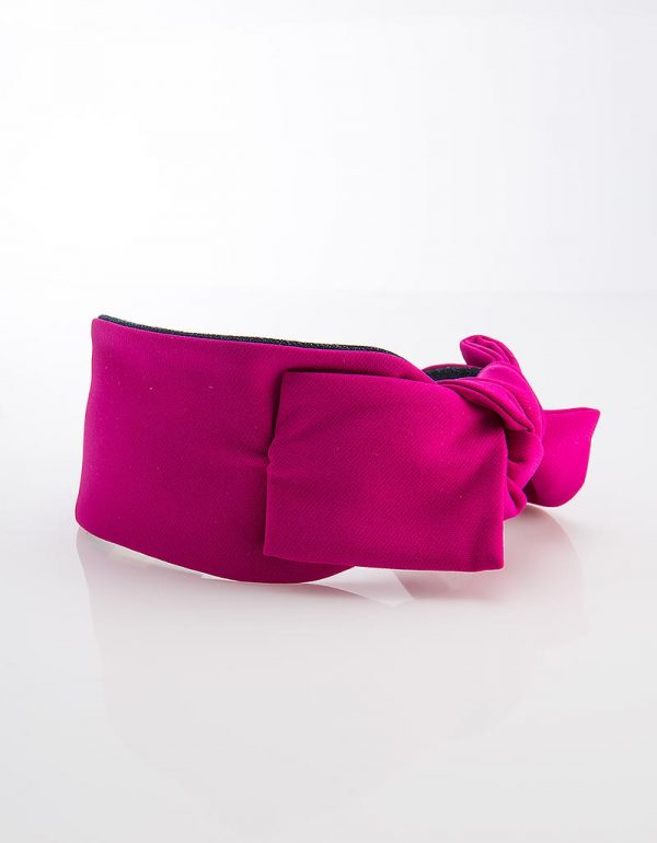 Fuchsia Side Bow Tie Mini