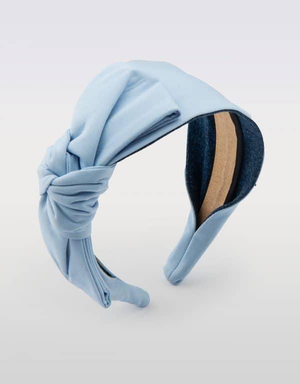 Blue Sky Side Bow Tie
