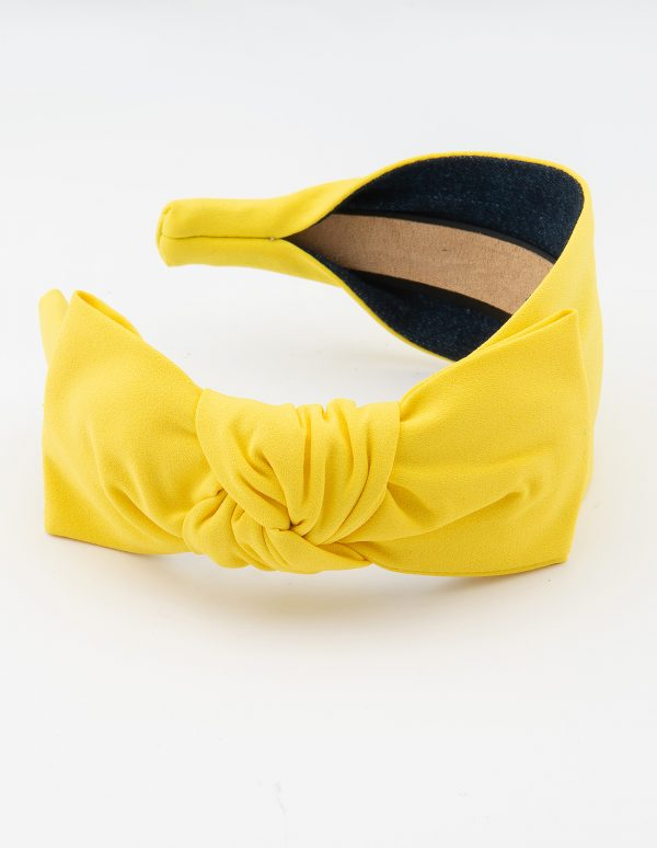 Yellow Side Bow Tie