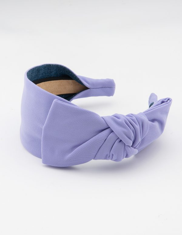 Pastel Lilac Side Bow Tie