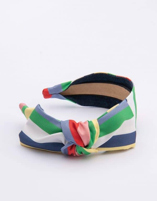 Rainbow Side Bow Tie