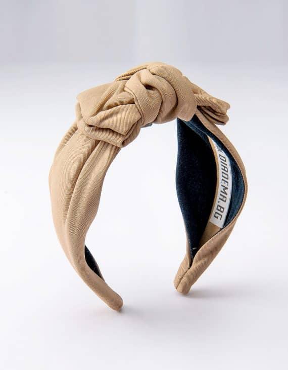 Light Camel Bow Tie