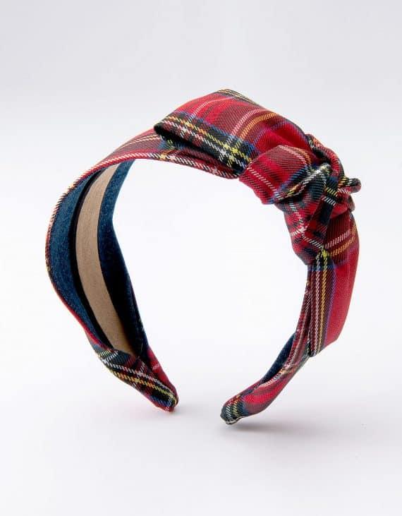 Royal Stewart Tartan Side Bow Tie