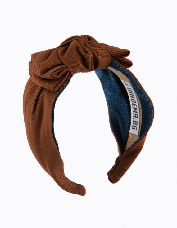 Caramel Coffee Bow Tie